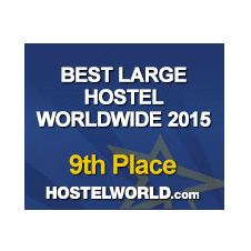 HostelWorld Best Large Hostel Worldwide 2015