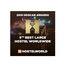 HostelWorld Best Large Hostel Worldwide 2016